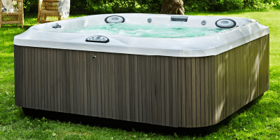 J-325 Jacuzzi Hot Tub installation summer Ontario