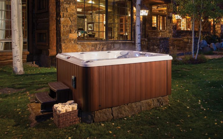 J-245 Jacuzzi Hot Tub install in Ontario in Ontario