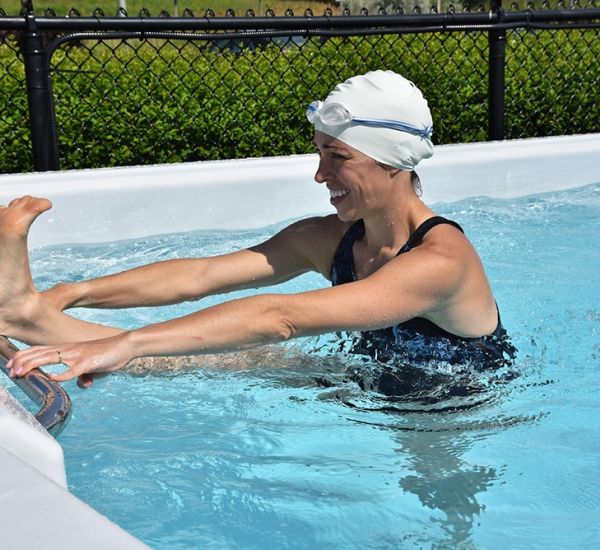 All Season Pool swim spa in Burlington, ON