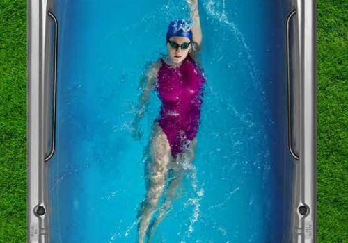 All Season Pool swim spa in Ontario