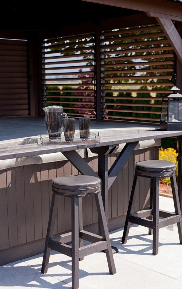 windsor visscher gazebo stools in Ontario