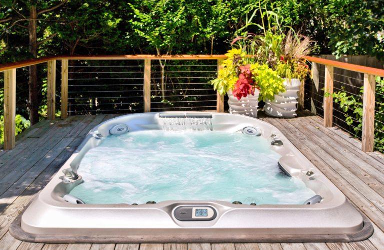 J-400 Collection hot tub Installation Ontario