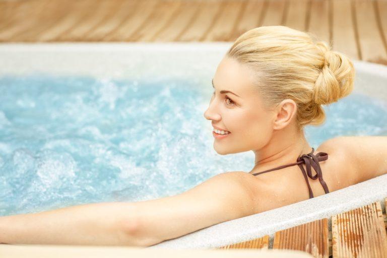 hot tub or swim spa