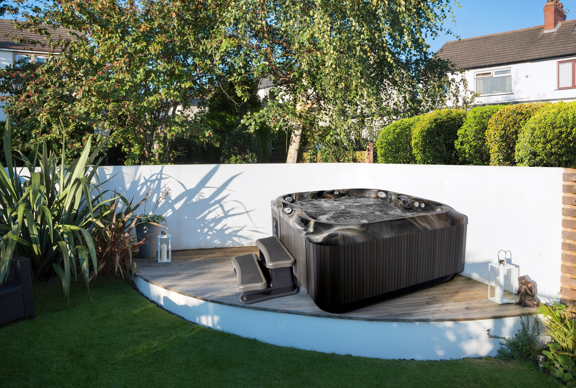 hot tub trade in