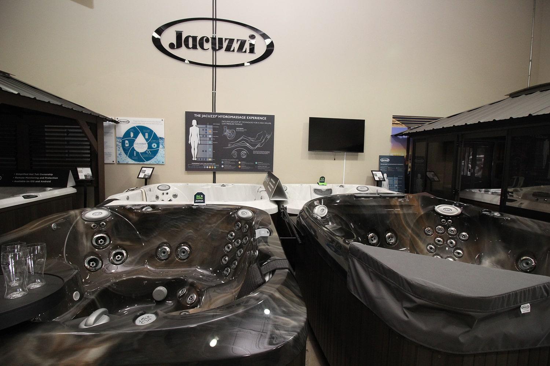 Jacuzzi Aurora Showroom with Hot Tubs