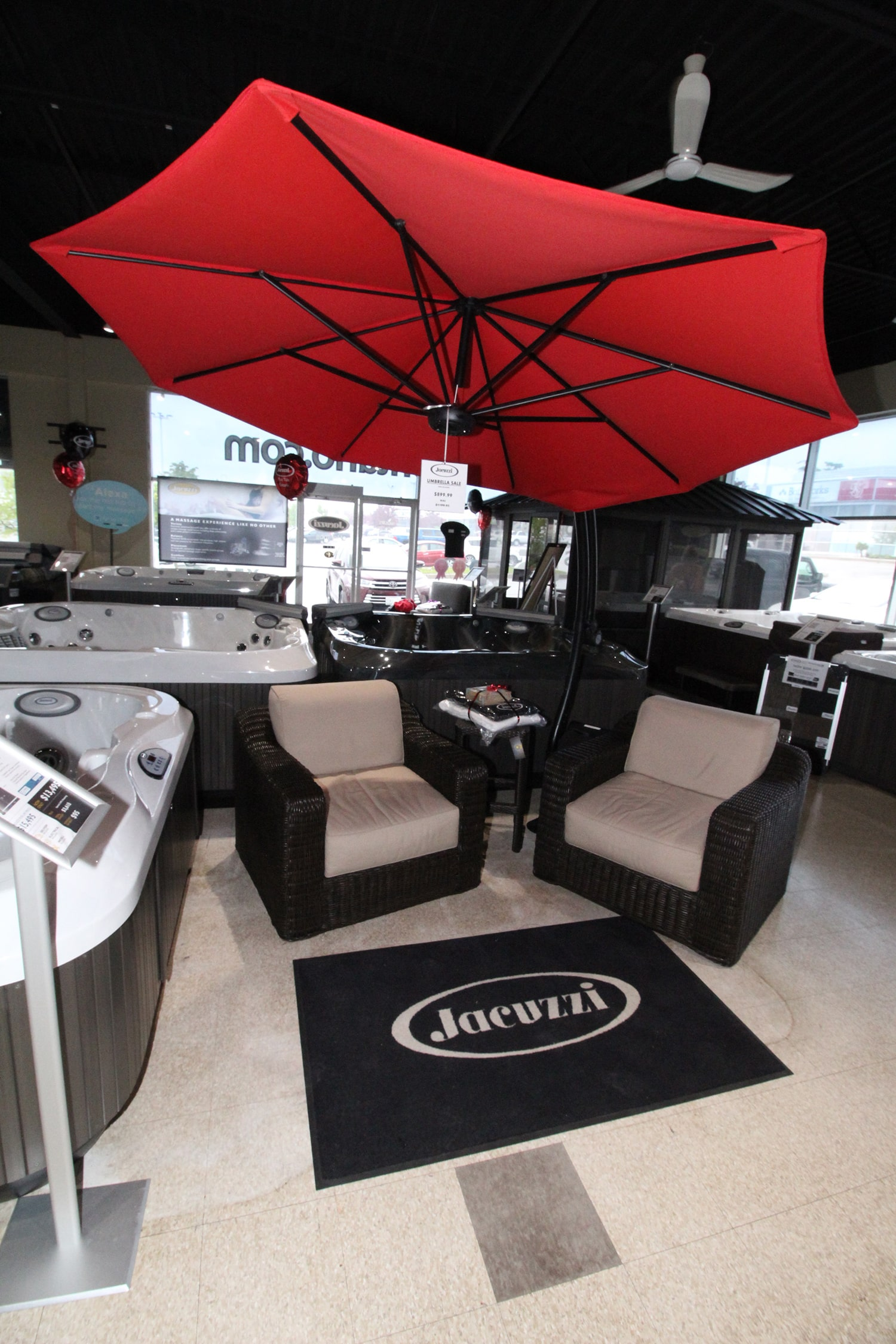 Jacuzzi Barrie Outdoor Furniture Showroom