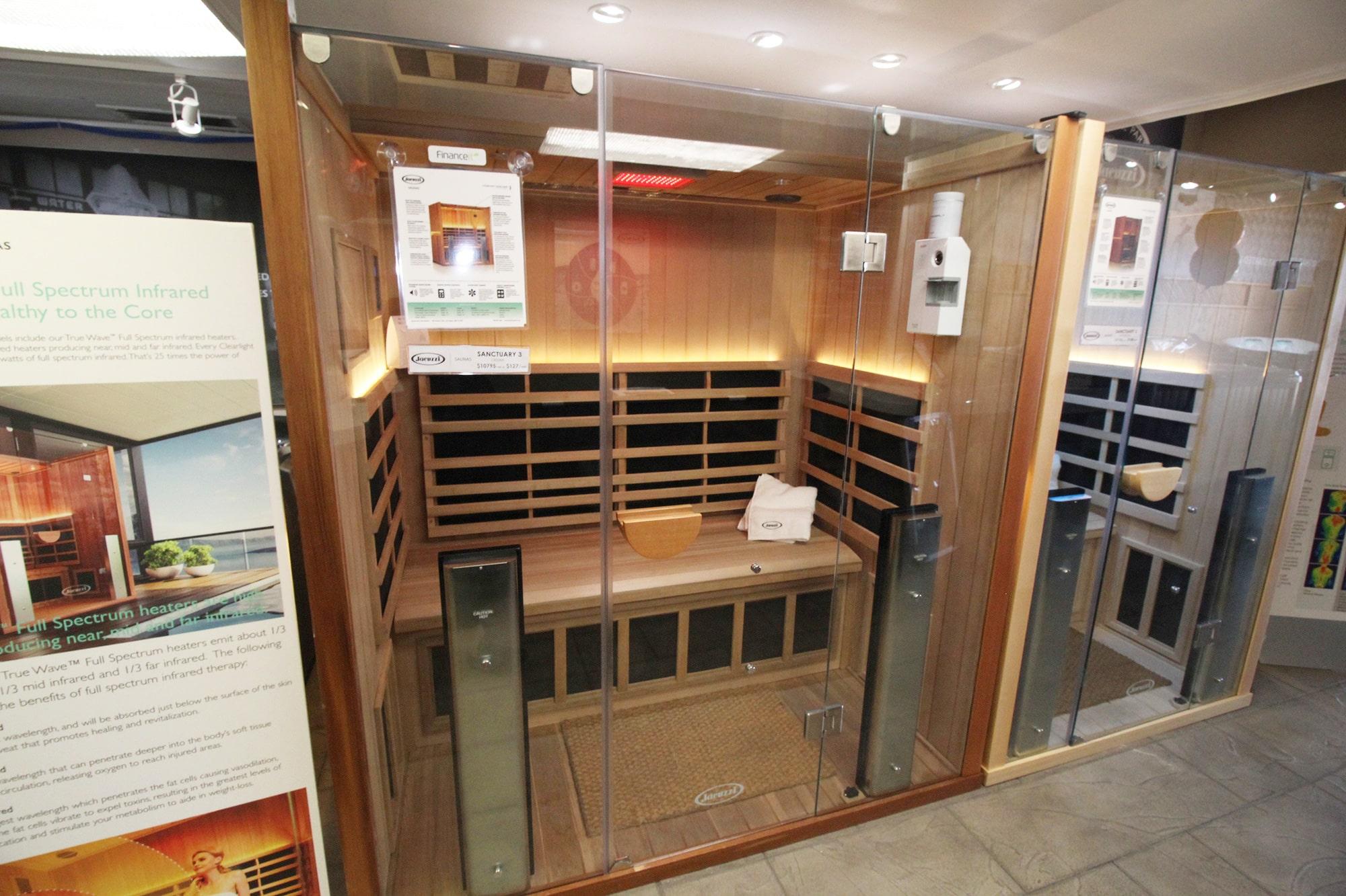 Jacuzzi Burlington Infrared Saunas