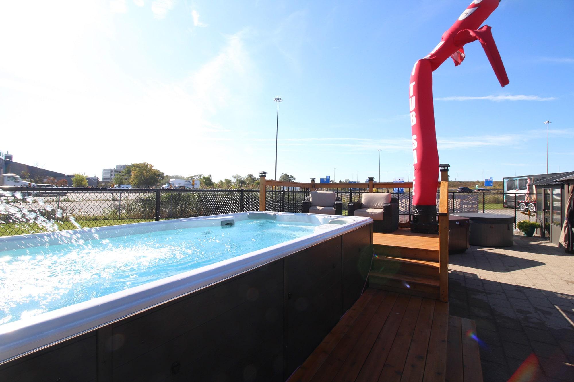 Jacuzzi Burlington Showroom Exterior All Season Pool