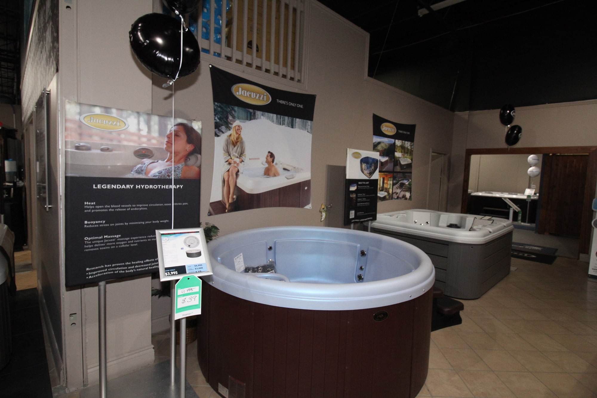 Jacuzzi Kitchener Spa Showroom