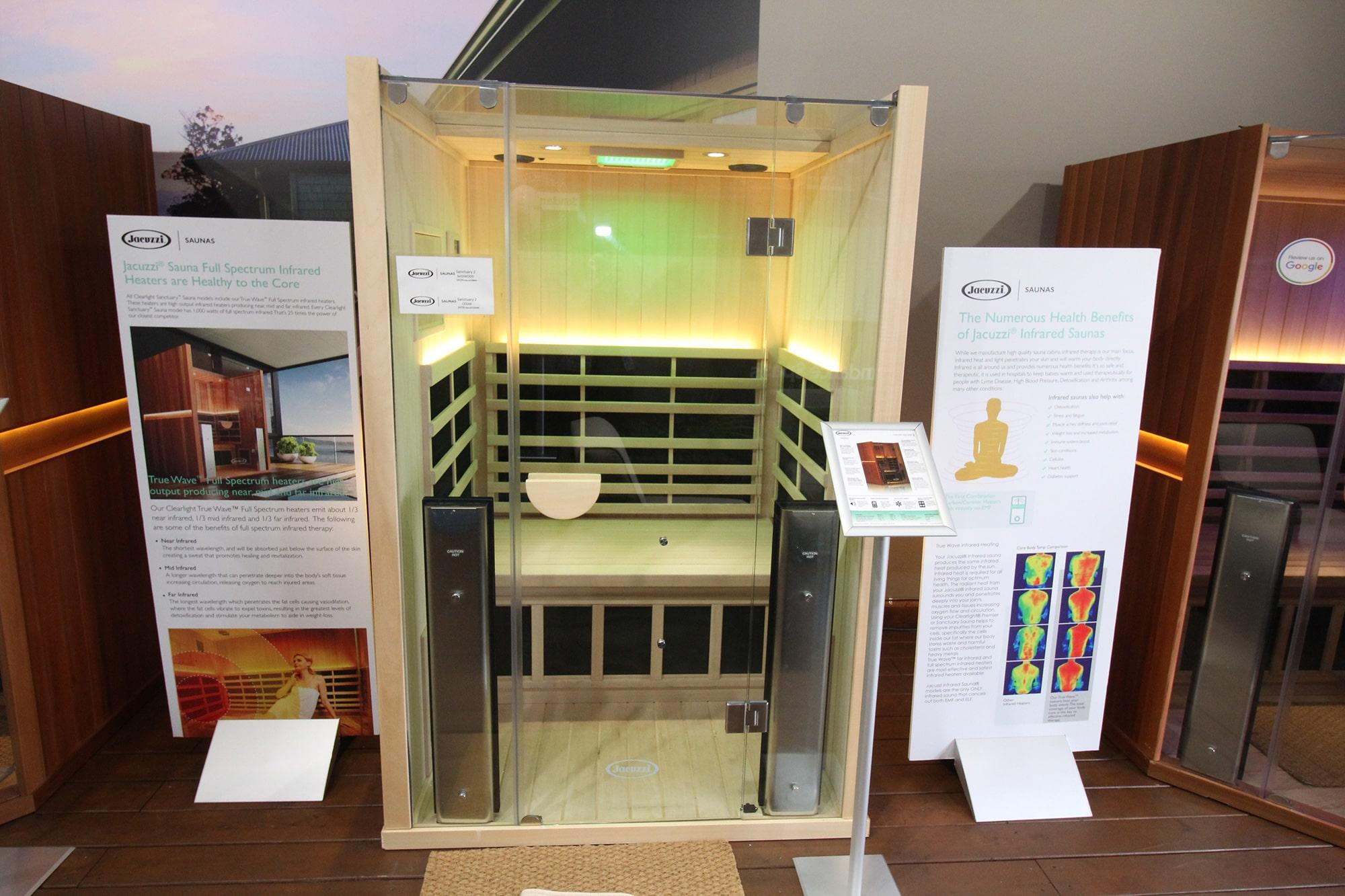 Jacuzzi Kitchener Infrared Sauna