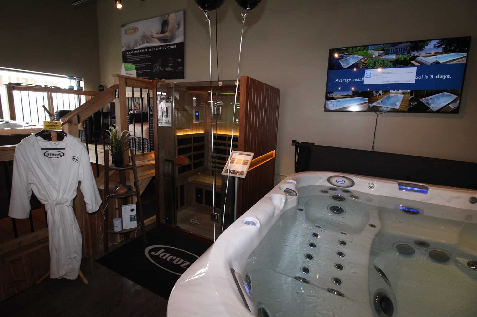 Jacuzzi Whitby Hot Tub and Sauna