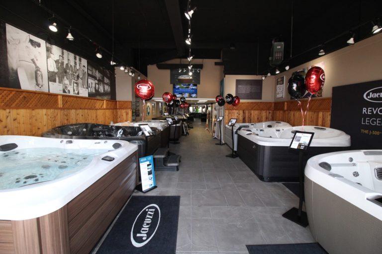 Jacuzzi Burlington Hot Tub Showroom