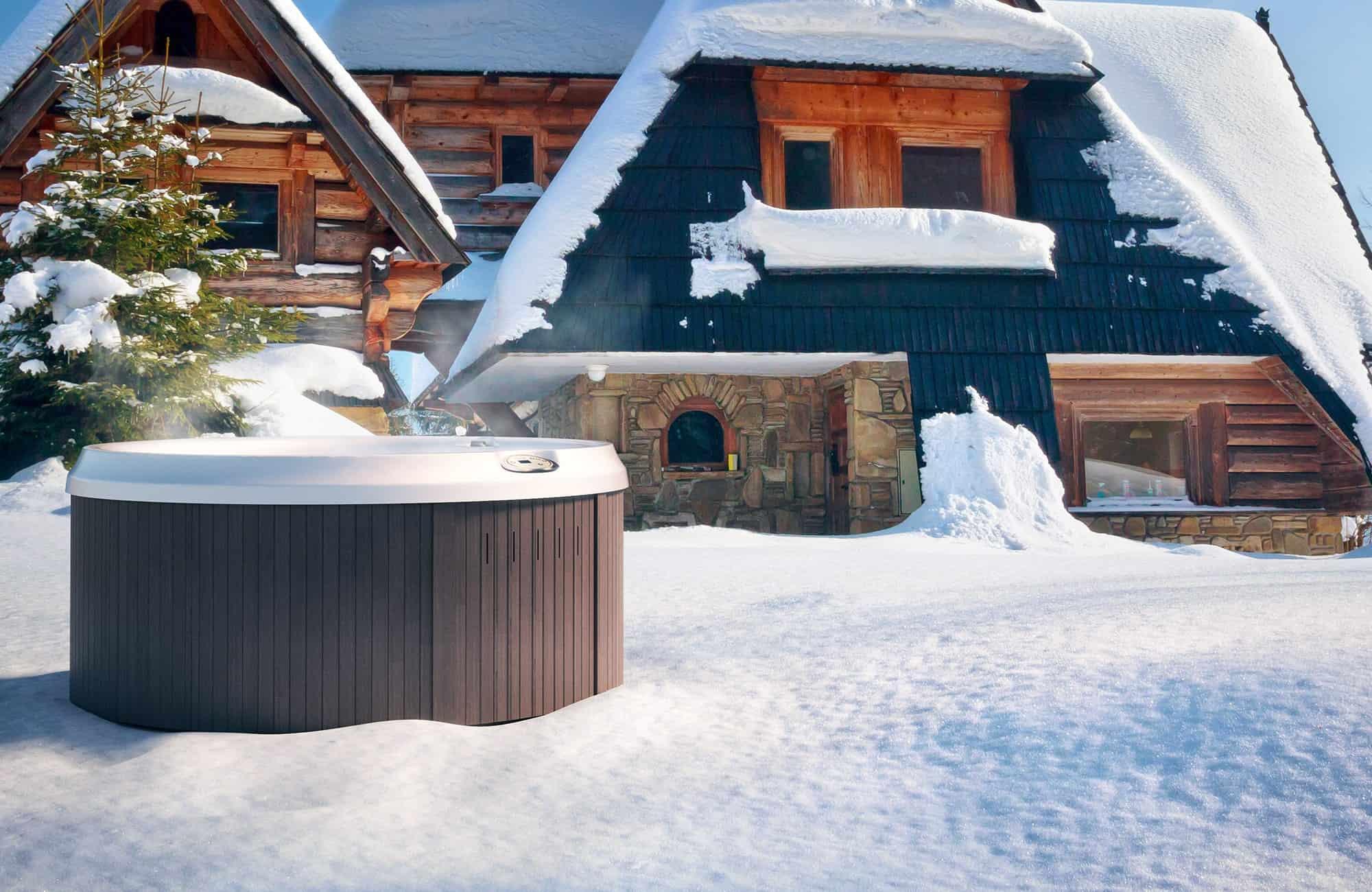 J-210 Hot Tub Installation in Ontario