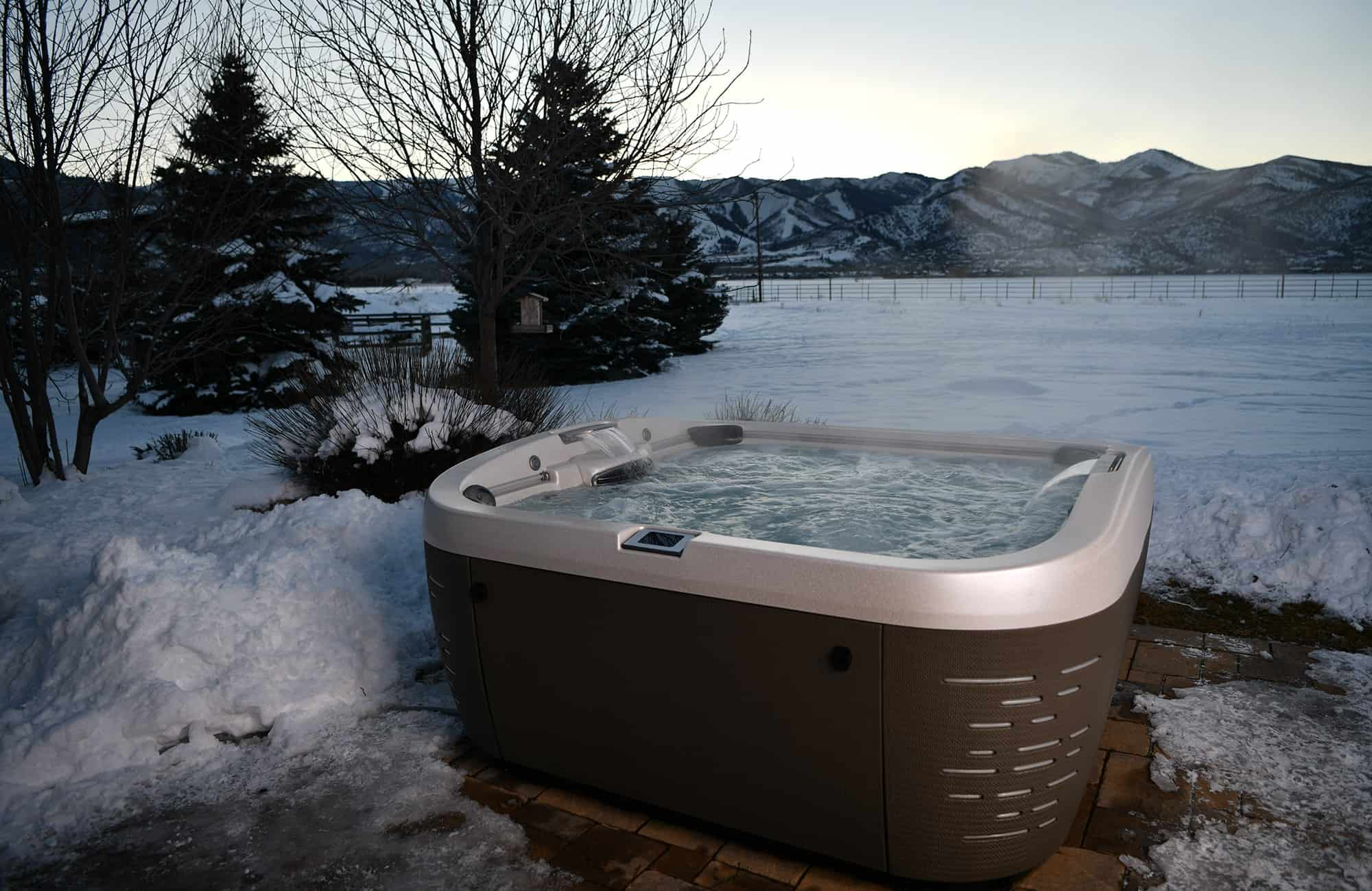J-500 Collection Hot Tub Installation in Ontario