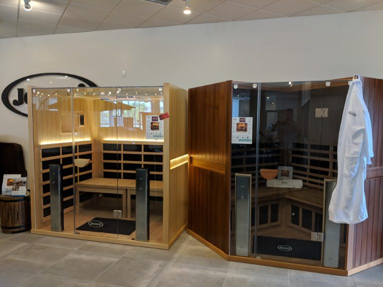 Infrared Saunas for sale at Jacuzzi Ontario