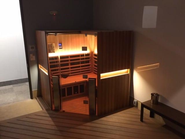 Infrared Sauna installation.