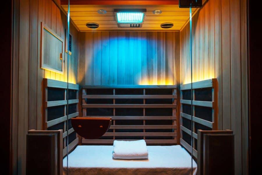 4 person sauna installation near kitchener