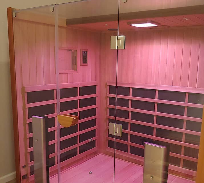 This Infrared Sauna Made the Perfect Addition to a London Family Home