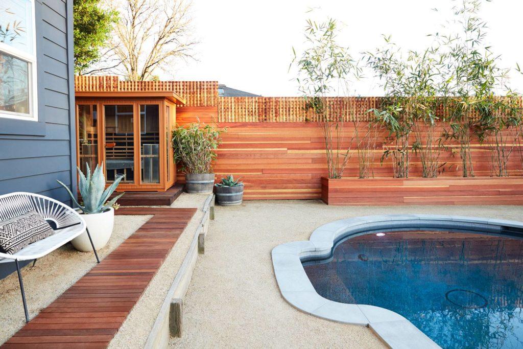 Jacuzzi-Infrared-Sauna-Outdoor-Installation