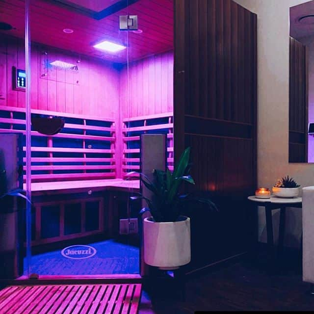 Whitby Family Enjoys the Health Benefits of Sauna Light Therapy