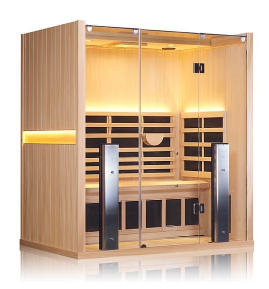 Sanctuary-3 Basswood Infrared Sauna