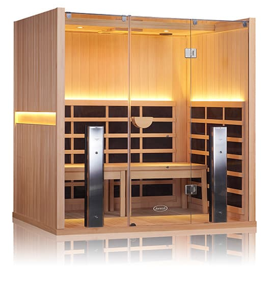 Sanctuary Y Basswood Infrared Sauna