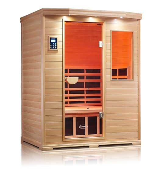 Premier IS-3 Basswood Infrared Sauna