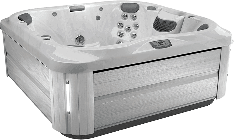 Jacuzzi J345 Platinum Brushed Grey hot tub in Ontario