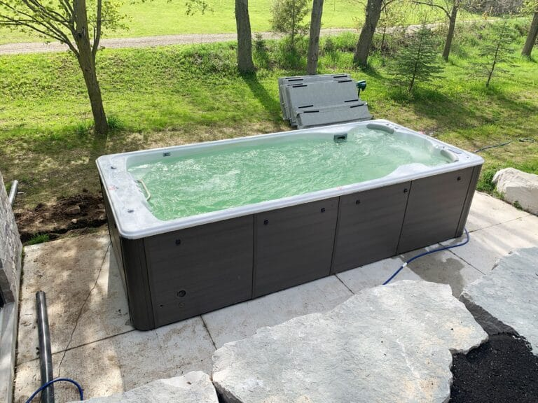 Living a healthy lifestyle with an all season pool installation in Ontario