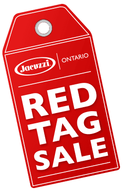 red tag sale at Jacuzzi Ontario