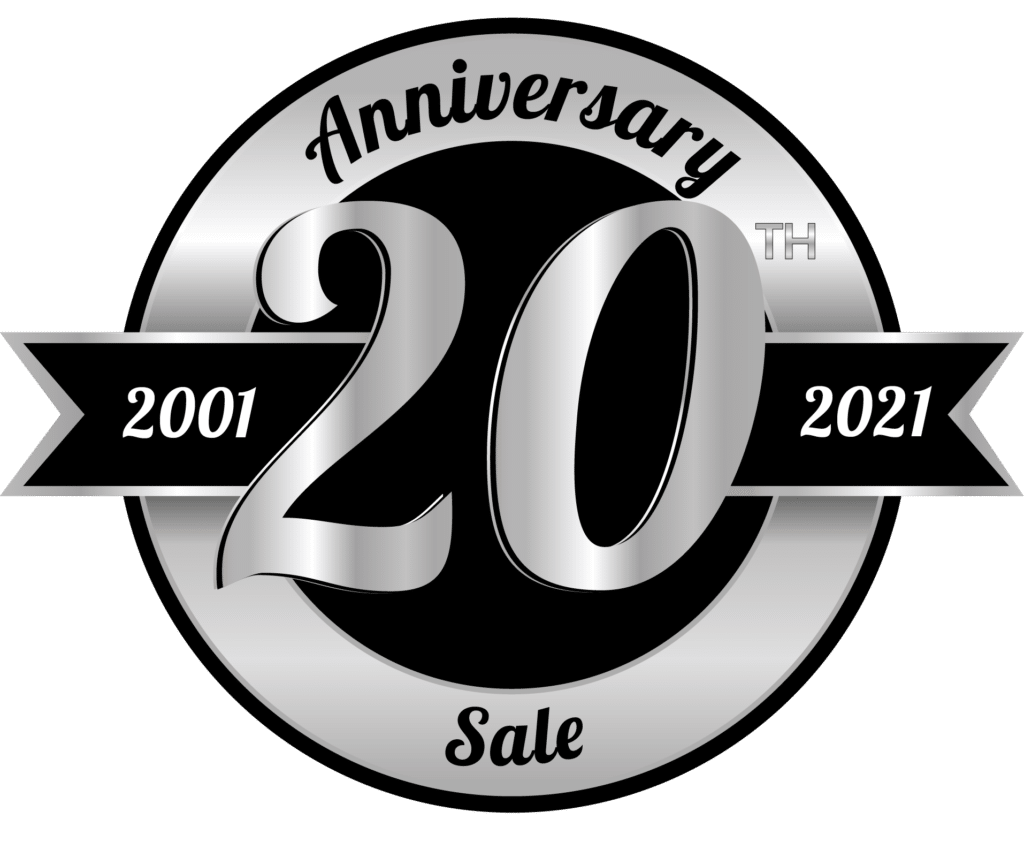 20th Anniversary Sale at Jacuzzi Ontario