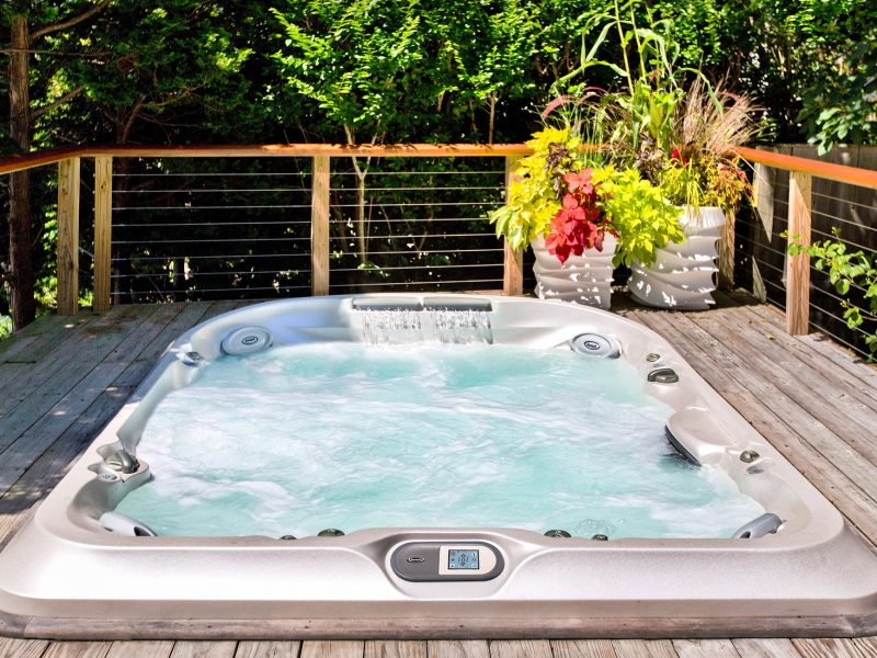 J-400 Collection hot tub Installation Ontario