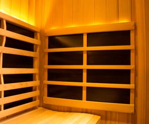 Sanctuary Sauna Heater Back Light Ontario