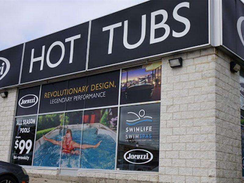 Jacuzzi Ontario Barrie showroom exterior