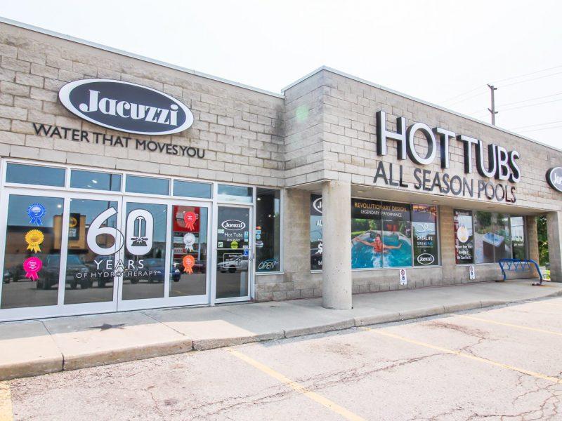 Jacuzzi Hamilton Ancaster store
