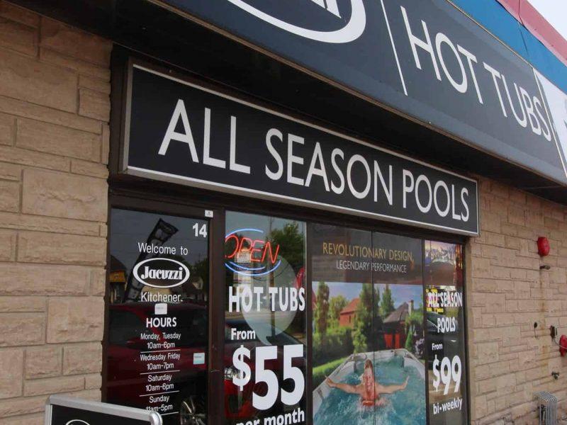 Jacuzzi Hot Tubs Kitchener Ontario