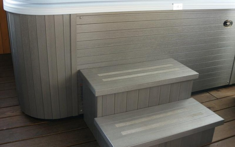 Nordic Hot Tubs Steps
