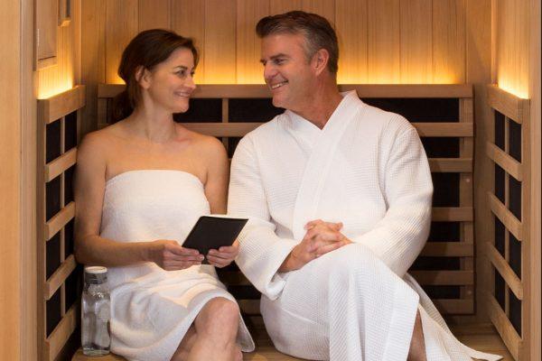 sauna couple in Ontario